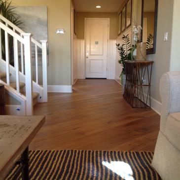 Hardwood flooring image gallery of bella cera floors in for Model home flooring